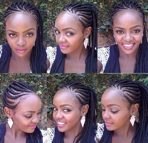 Braided Hairstyles Natural Cornrows