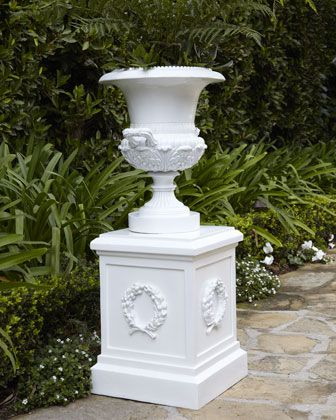 17 Best images about Outdoor Flower Pots Pedestals on Pinterest