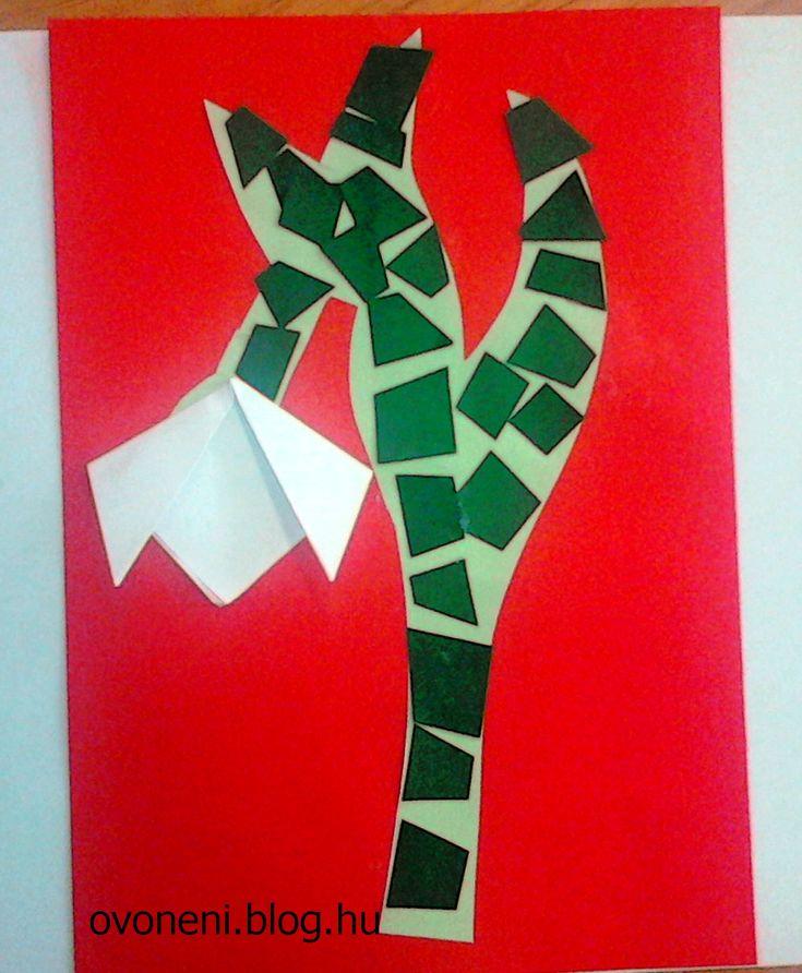 Egy kis mozaikozás, egy kis origami és már kész is a hóvirág. Egyszerűen elkészíthető :) Kézügyesség, figyelem, türelem, játékos fejlesztés. Szalai Borbála: Az első hóvirág - Hallod-e, napocska! Hol késik meleged? Nézz csak a naptárba: Nők napja közeleg! ...