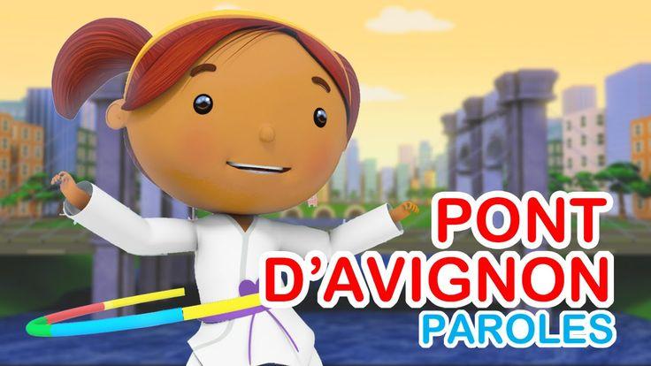 CHANSON | Sur le pont d'Avignon | Découvrez notre version moderne de cette jolie chanson pour les enfants! Le clip est en 3D et les paroles sont incluses sur la vidéo. Vous pourrez chanter avec vos enfants :)