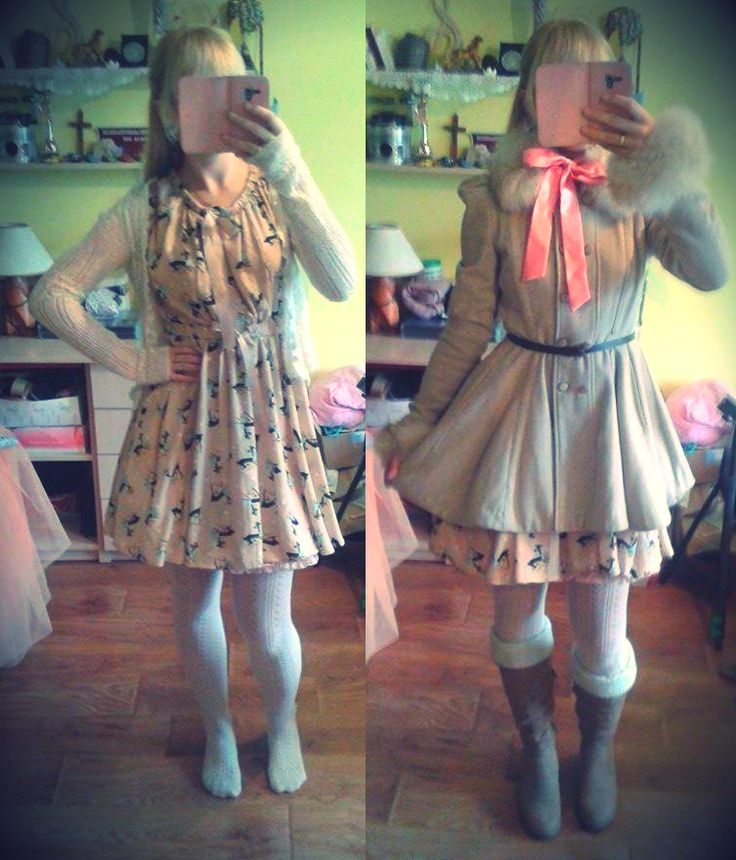 #kawaii #girl #girly #korean #japanstyle #sweet #lovely #cute #outfit #ulzzang #inspiration #asian #kpop #fashion #dress #coat #dresscoat #dress #longhair #verylonghair #very #long #hair #longbraid #blondehair #blonde #high #knee #socks #highkneesocks #highsocks #tights #tighthigh