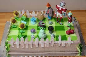 Resultado de imagen para torta de plants vs zombies
