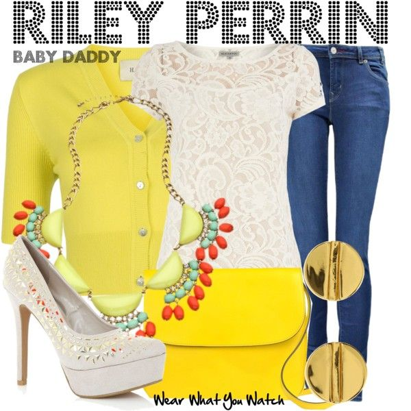 Inspired by Chelsea Kane as Riley Perrin on Baby Daddy. Guess I'm not the only one obsessed with her style on the show.