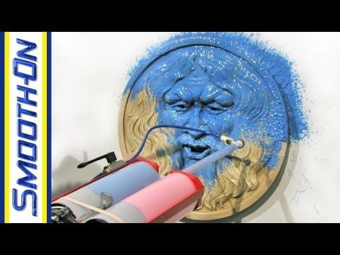How to Spray rubber to make plastic molds of anything « Sculpture