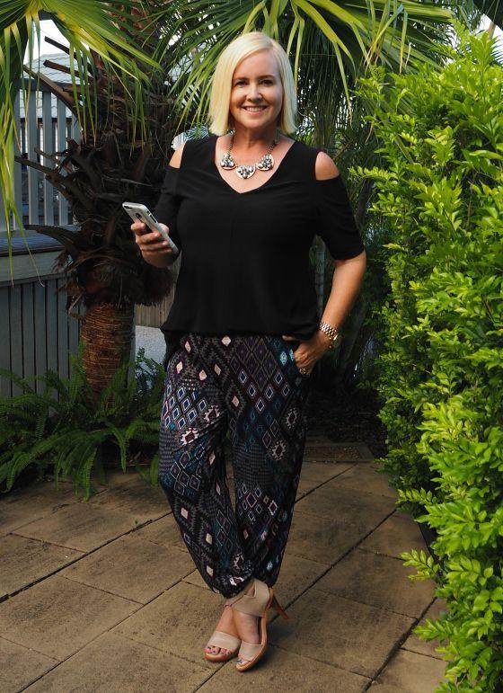 Motto pants | Motto top | The Adorn Collective necklace | Zoe Kratzmann heels