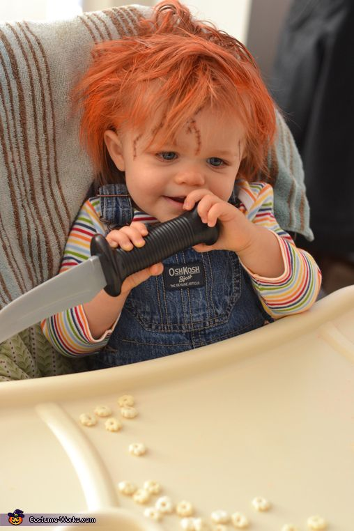 Chucky Doll Costume - Halloween Costume Contest via @costumeworks