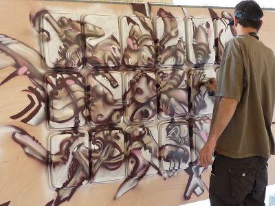 Qu'avait donc derrière la tête notre ministre de la culture en venant à stree... #Art #Artiste