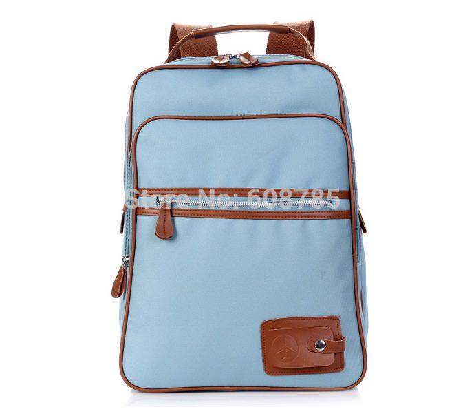 Женщины брезент рюкзак свободного покроя студент школа сумки для подростков пеший туризм рюкзаки рюкзак для лэптопа B1294