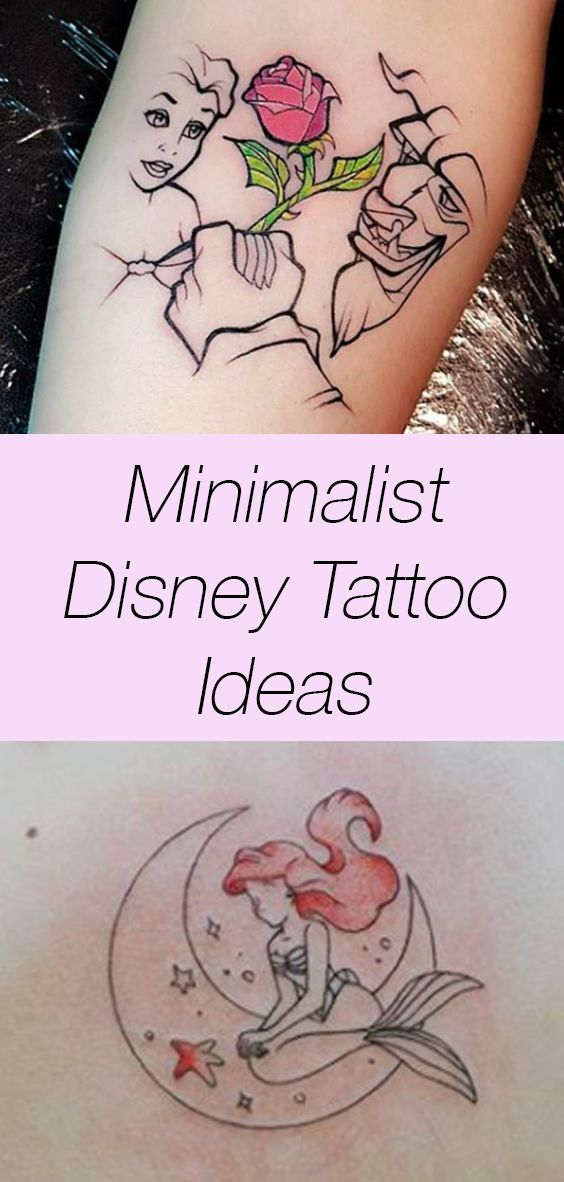 21 Magical Disney Tattoos To Make You Feel All The Nostalgia