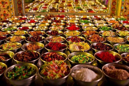 Reception Food Menu Indian