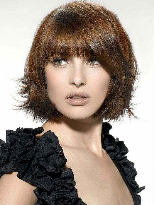 Not sure that I'm ready to cut my hair short again but if I do ever decide to, this is a really cute cut. Stylish-Bob-Hairstyles-2012-2013-for-Women-6