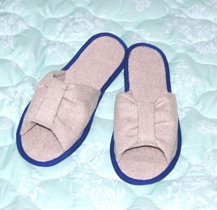 Товары народного потребления :: Обувь :: AGRO-HANF :: Обувь домашняя женская [модель 0405] :: Экологически чистая продукция из конопли, одежда из конопли на интернет магазине agrohanf
