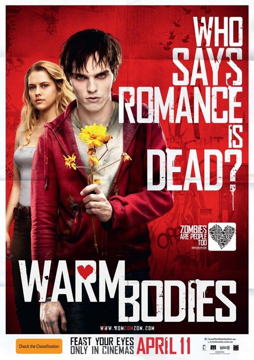 Warm Bodies I thought this movie was gonna suck. But, surprisingly it was a wonderful movie.