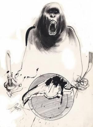 """""""El hambre de unos pocos"""" por Luis Scafati"""
