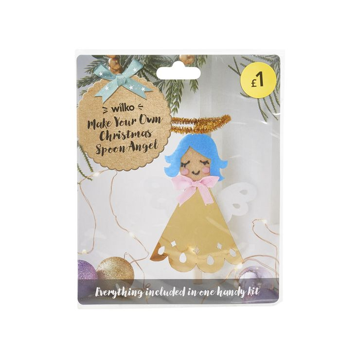 Best 25 wilko christmas ideas on pinterest top toddler wilko christmas decoration make your own spoon angel solutioingenieria Gallery