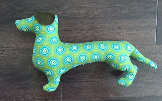Dachshund cushion Dachsie cushion dachshund wall by RicketyGates