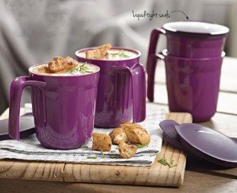 Four Allergra mugs 400 ml