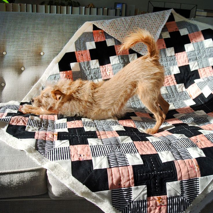 here we go...JUMP, JUMP…Kriss Kross quilt pattern by Suzy Quilts. This would make such a cute baby quilt!