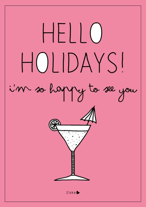 Hello holidays | Elske | www.elskeleenstra.nl