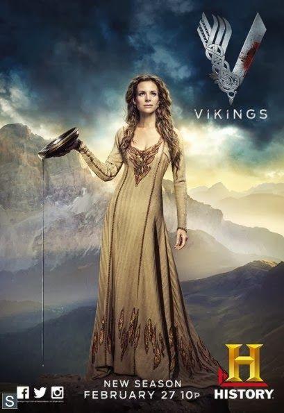 Jessalyn Gilsig Pics On Vikings | ... XFL - Posters de los personajes de la segunda temporada de Vikings
