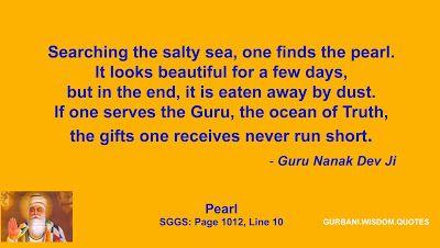 GURBANI.WISDOM.QUOTES (SGGS): Quote 292/378 - Guru Nanak Dev Ji (The Pearl)