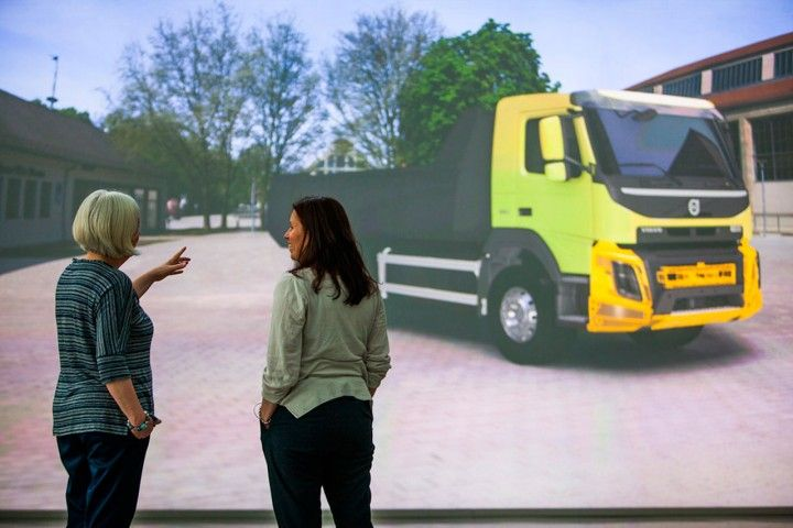 Virtual Reality 3D at Volvo Trucks - from the gallery ... |Volvo Virtual Reality