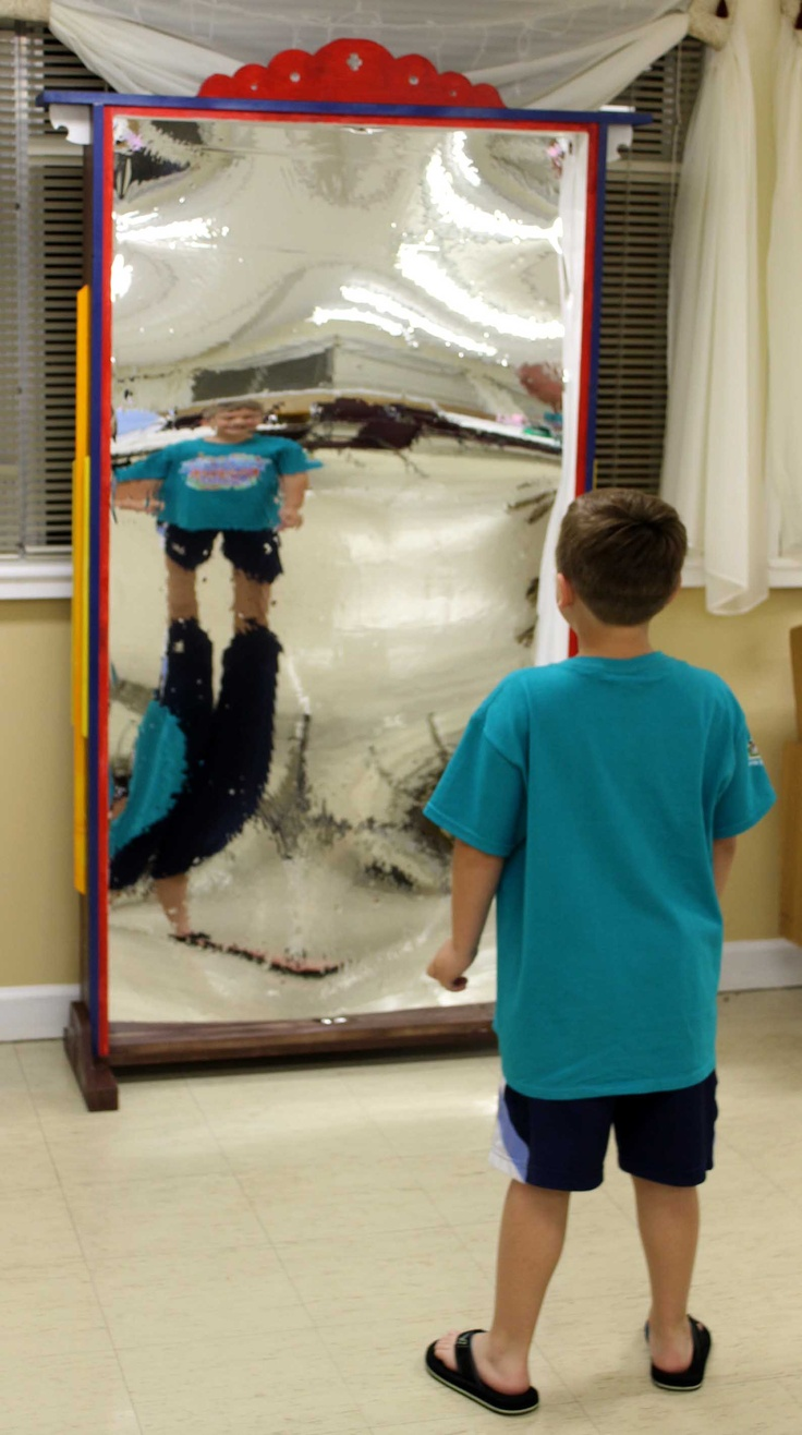 Fun house mirrors diy