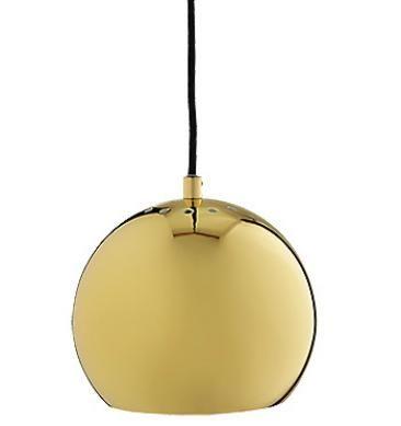 Ball Pendel lampe - Messing - Kobber - Benny Frandsen - Online bestilling - Marlinglight.dk