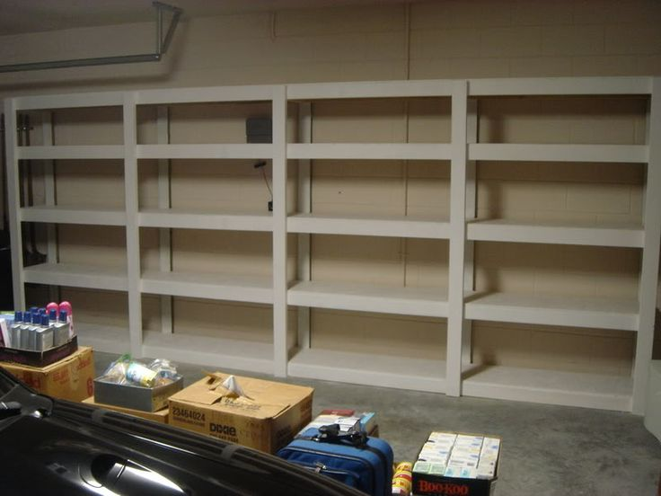 Garage Shelves - How They Should Be Arranged | My New Home IdeasMy New Home Ideas