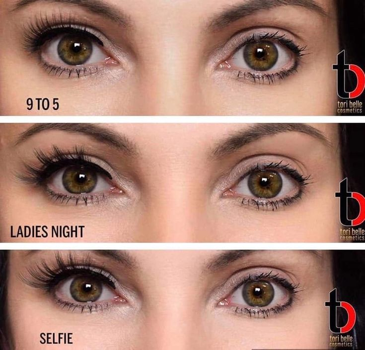 how to put on magnetic eyelashes with liner