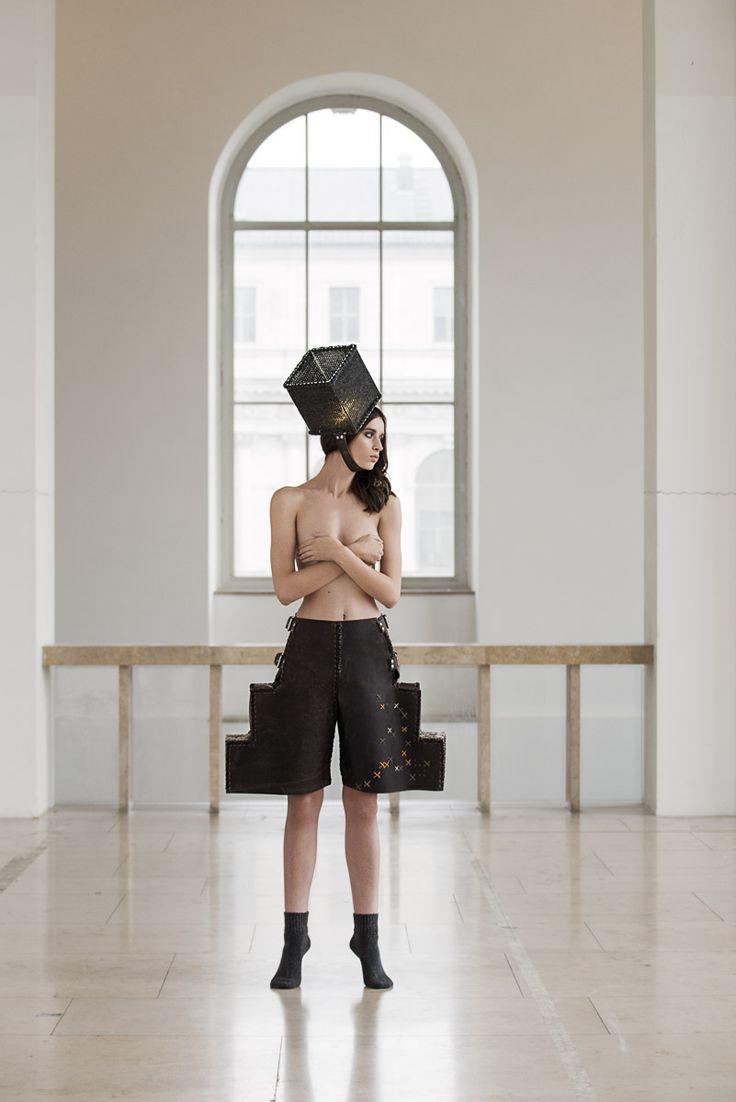 PLACE OF SPIRIT - STEP IN  Graduate Collection Look 7 Thomas Sing Photography  Lana B. / Munich Models  H&M: Dana Pribanovic retouch: Chiara Padovan