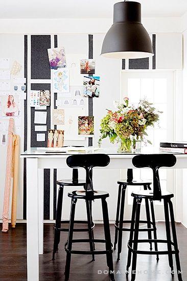 Lauren Conrad's Paper Crown office