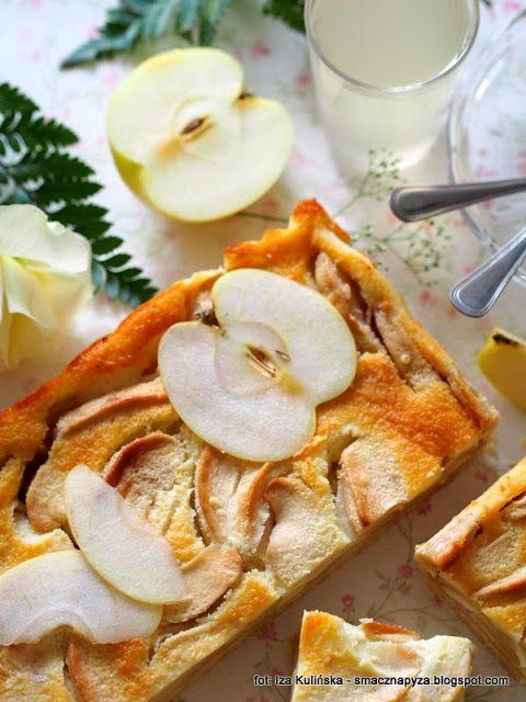Smaczna Pyza: Pyszne ciasta domowe. Szarlotka śmietankowa. Jabłe...