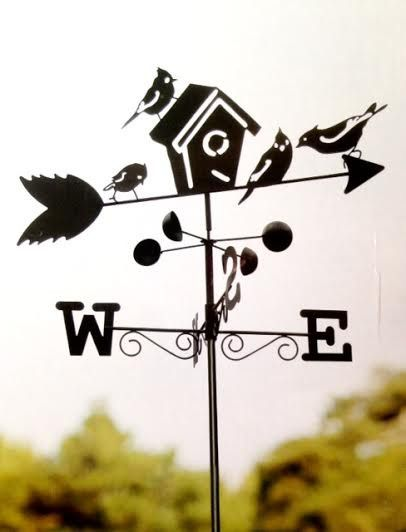 New!!! Never Been Used Box might be a little damaged. Weather Vane is in perfect condition. Weather Vane Has Metal Construction Stands 5 1/2 Feet Tall (Approx.) Indicates Wind Speed and Wind Direction