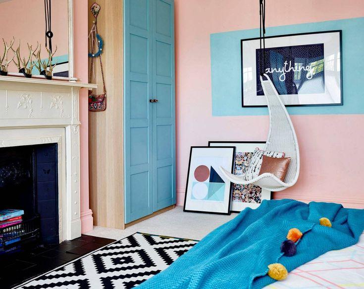 Яркое оформление детской комнаты