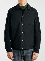 Charcoal Marl Coach Jacket