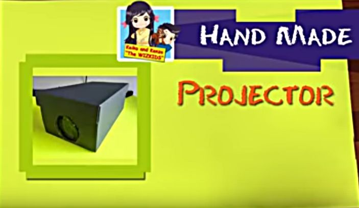 Build your own projector at home and play movies, photos right out of your smart phone. Simply use a shoebox, magnifying glass and a smart phone to build it.