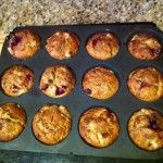 BARLEYmax Pear & Cranberry Muffins   Goodness Superfoods