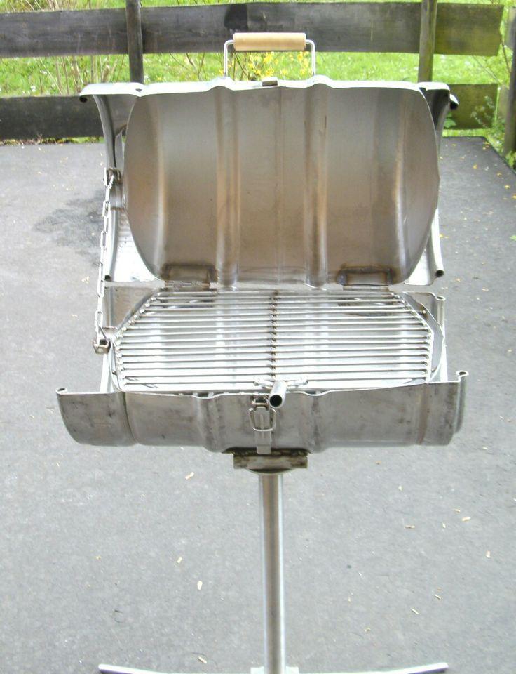 grill bierfass edelstahl 50 liter metall eigenbau self. Black Bedroom Furniture Sets. Home Design Ideas