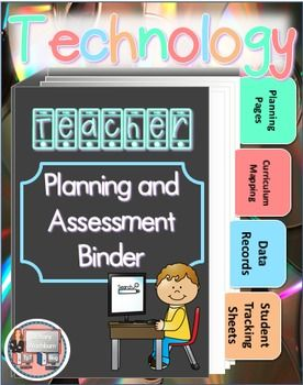 Technology Teacher Planning and Data Binder. Get excited. This will save you so much time organizing all of your plans and data. $