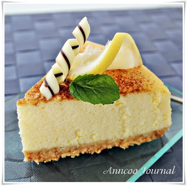 Lemon Cheesecake | Anncoo Journal