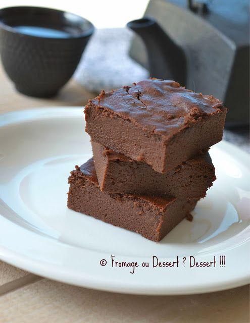 Fondant au chocolat à tomber par terre (à la compote) ! Allégé!