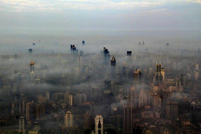 Crane Operator Captures Stunning Photos of Shanghai from Above | My Modern Metropolis
