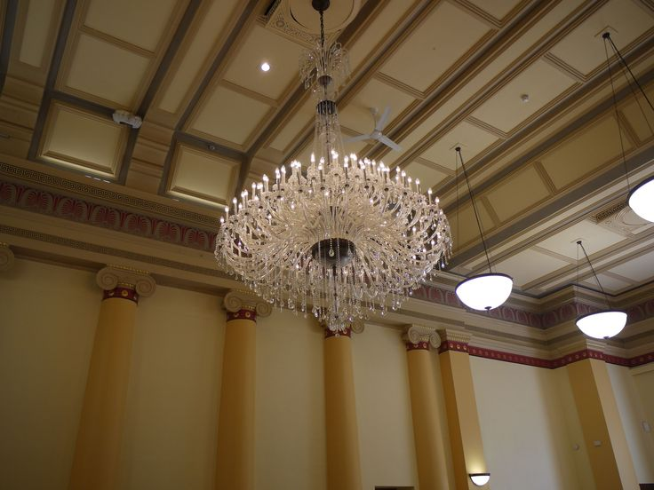 Chandelier, Macclesfield Town Hall