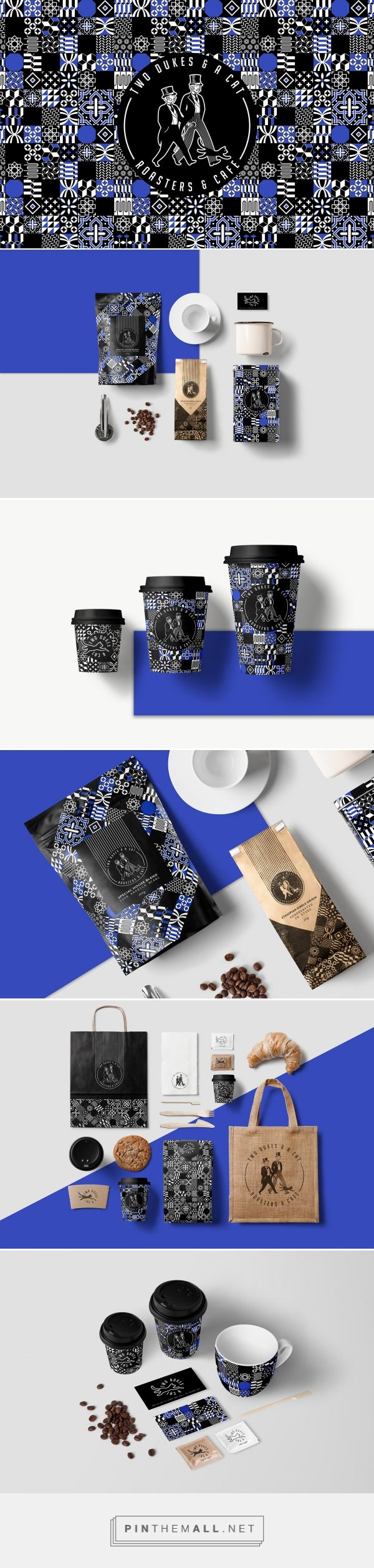 Two Dukes & A Cat on Behance  | Fivestar Branding – Design and Branding Agency & Inspiration Gallery
