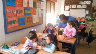 En clase de Geografía con la Guía apps Educación 3.0 en Busquístar, via YouTube.