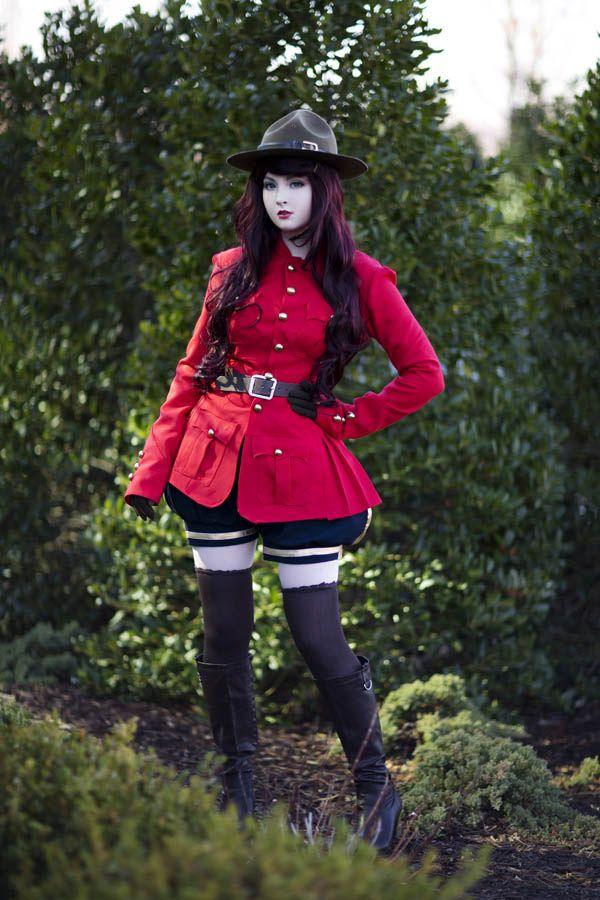 RCMP inspired uniform II by AngelaClaytonCosplay.deviantart.com on @deviantART