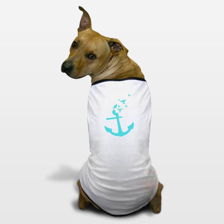Shop for unique nursery art like the anchor Dog T-Shirts by haroulita on BoomBoomPrints today!  Customize colors, style and design to make the artwork in your baby's room their own!