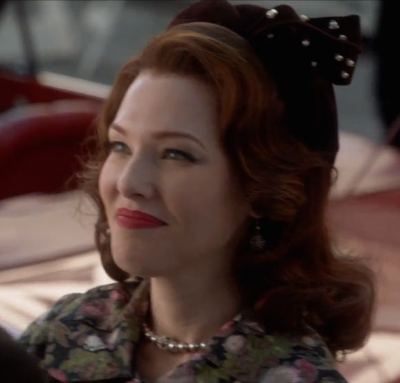 Erin Cummings (Marge Slayton) in season 1 episode 2 of ABC's Astronaut Wives Club based on the book by Lily Koppel. Astrowives. 60s fashion. Mad Men withdrawal.