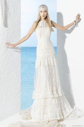 vestido de novia yolan cris modelo togo | vestidos de novia modelos